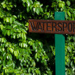Stock Photo: Watersports sign