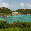 Antigua Long Bay — Stock Photo