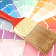 Paint swatches - Stock fotografie