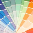 Stock Photo: Paint swatches