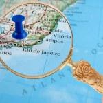Rio de Janeiro map — Stock Photo #6751855