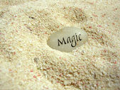 Magic stone — Stock Photo
