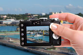 Snapshot of Nassau port — Stock Photo