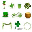 Stock Vector: St. Patrick