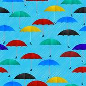 Deštivý den pozadí — Stock vektor