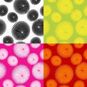 Floral motif pattern — Stock Vector
