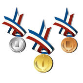 Medals — Stock Vector