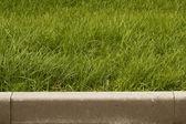 Stone cement concrete barrier — Stock Photo