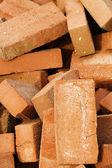 Stone brick building heap — Stock Photo