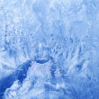 Glass ice snowflakes frozen — Stock Photo