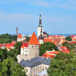 Tallinn. Old town — Stock Photo