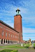 Стокгольмское здание муниципалитета — Стоковое фото