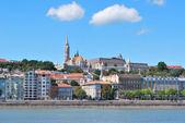Budapest, Hungary. View of Buda — Stock Photo