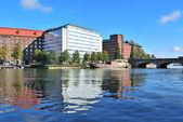 Helsinki. Kaisaniemi bay — Stock fotografie
