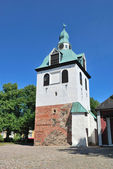 Porvoo, Finland. Medieval bell-tower — Stock Photo