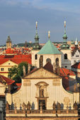 Prague. Klementinum and St.Salvatore Cathedral — Stock Photo