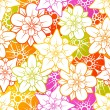 Royalty-Free Stock Obraz wektorowy: Vector flower seamless background