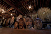 Historic Wine Barrels — Stock Photo