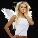 Beautiful angel girl — Stock Photo