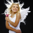 Stock Photo: Beautiful angel girl