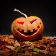 Stock Photo: Halloween pumpkin