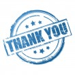 Thank you vector stamp — Stock Vector
