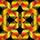 Golden seamless texture — Stock Vector