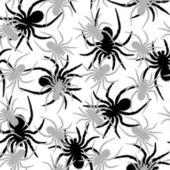 Padrão de aranhas — Vetor de Stock