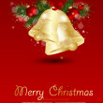 Christmas Bells vector illustration. — Stock Vector