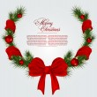 Christmas card background — Stock Vector #7526591