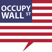 Occupy Wall Street — Stock Vector