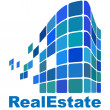 Real Estate logo — Vector de stock  #7921265
