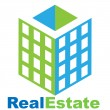 Real Estate logo — Image vectorielle