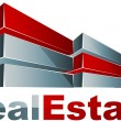 Real estate logo — Stock vektor #7921292