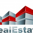 Real estate logo — Stock vektor