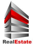 Real Estate logo — Stock Vector