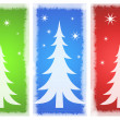 Beautiful background Christmas (New Year) card . — Stock Photo