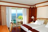 Apartment of the luxury hotel, Pattaya, Thailand — Stockfoto