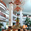 The luster at the lobby of luxury hotel, Pattaya, Thailand - Stock Photo