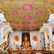 Interior of Temple of Lord BuddhTooth Relic. Kandy, S — Stock Photo #7501473
