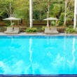 Swimming pool at luxury hotel, Bentota, Sri Lanka — Stock Photo #7563221