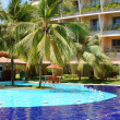 The swimming pool at luxury hotel, Bentota, Sri Lanka — Stock Photo