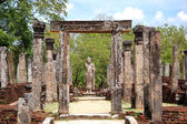 The Polonnaruwa ruins (ancient Sri Lanka's capital) — Stock Photo
