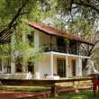 The villa at luxury hotel, Bentota, Sri Lanka - Stock Photo