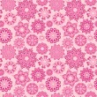 Ornate floral seamless texture, — Stockvektor
