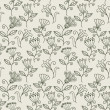 Seamless texture with flowers. Endless floral pattern. — Stockvektor