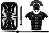 Roman armor — Stock Vector