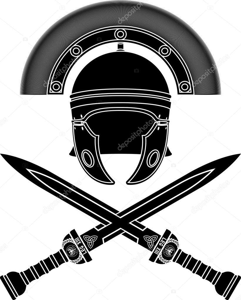 Roman Shield Images Stock Photos amp Vectors  Shutterstock