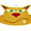 Royalty-Free Stock Vector Image: Vector illustration of a cat