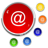 E-mail - button — Vector de stock